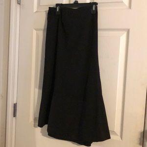 Classic Talbots Black A-Line Skirt (Used) -16W